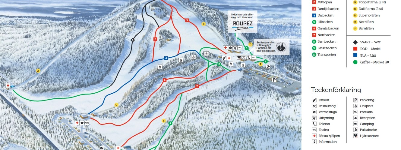 Isaberg - Ski slopes