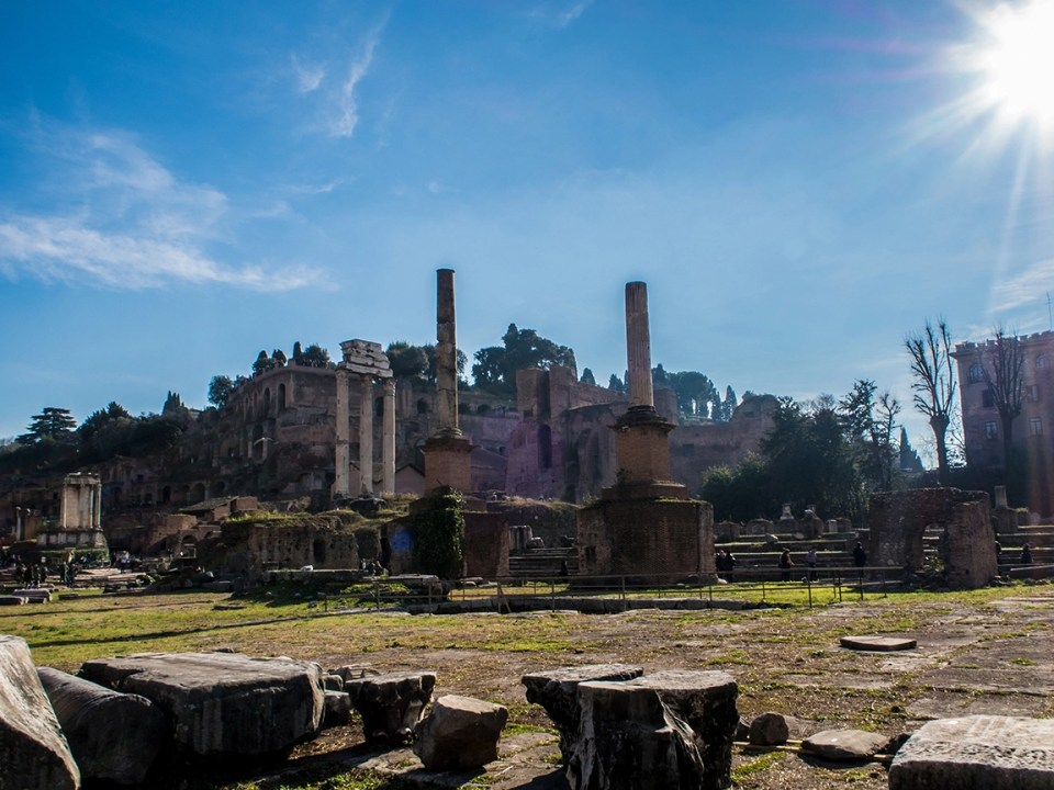 Palatine Hill and the Roman Forum