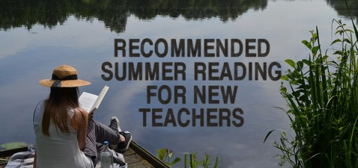 Recommended summer reading for new teachers