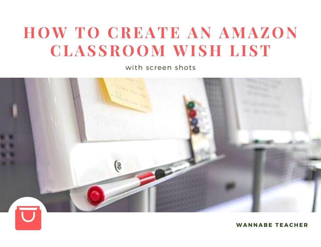 How to create an Amazon wish list