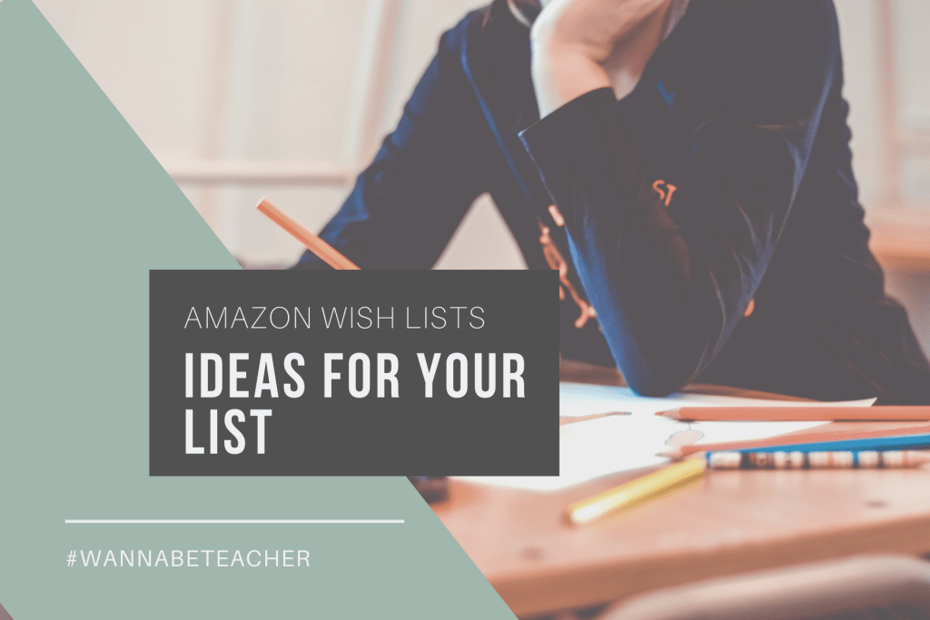 ideas for your Amazon wishlist