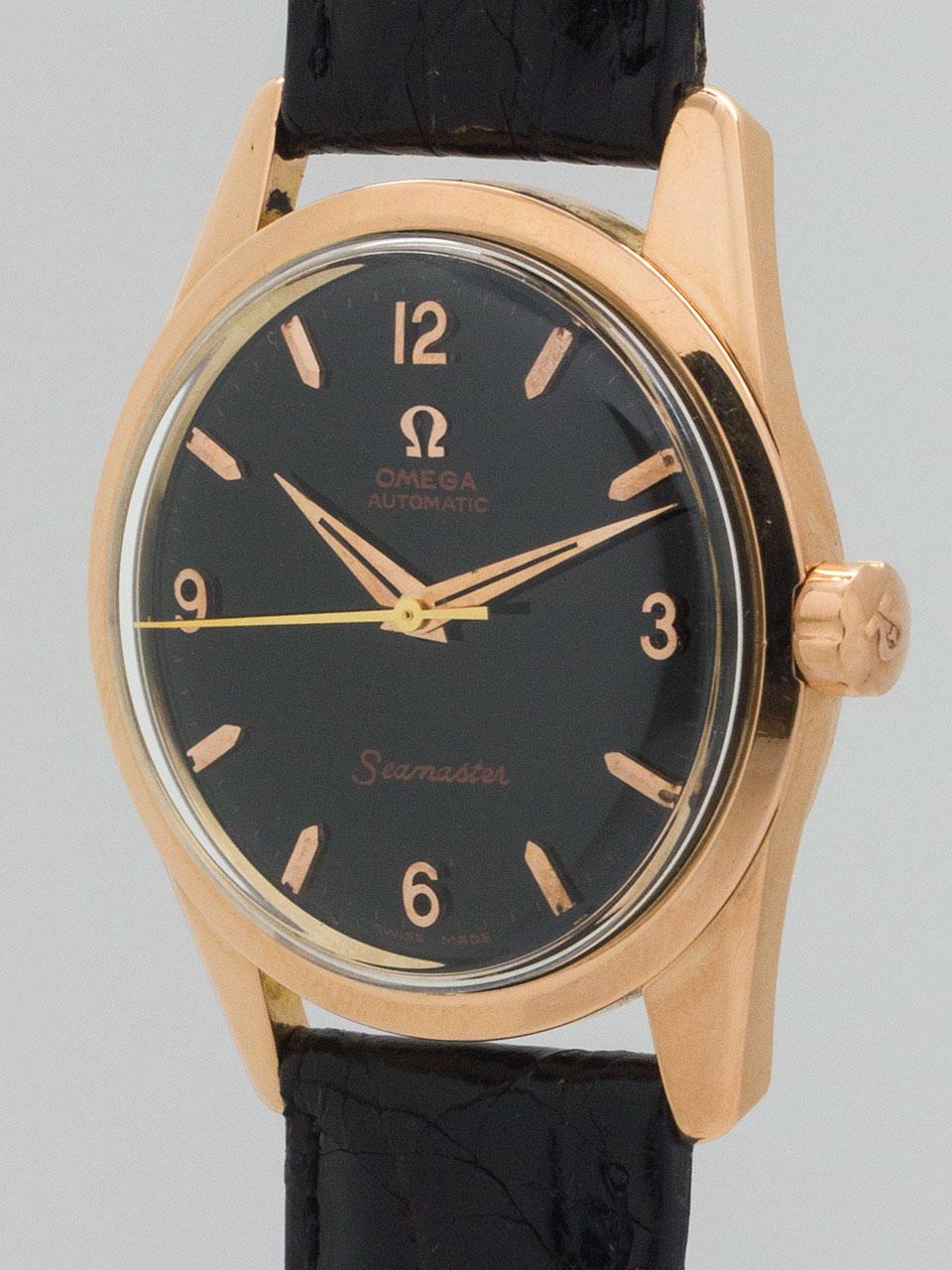 Wanna Buy A Watch Omega Seamaster Automatic 18K Pink