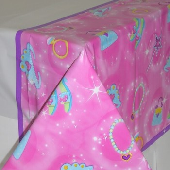 "Plastic Tablecover Princess - 54"" x 102""-0"