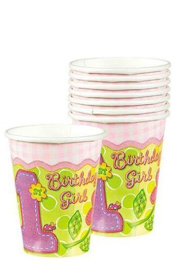 Hugs & Stitches 9oz Paper Cups - 8ct-0