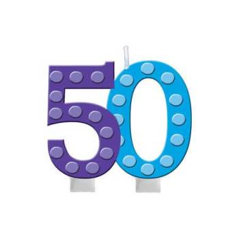 Numerical Candle 50th Birthday-0