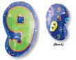 """18"""" Xl: 9 Multi-Color Balloon S60 -0"""