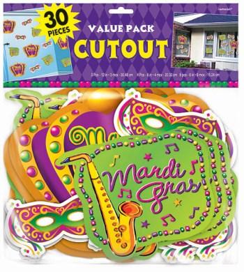 Value Pack Cutout Mardi Gras-0