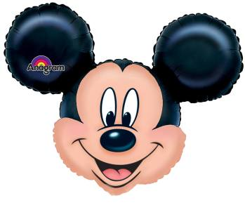 Foil Mickey Mouse Balloon 28in P38-0