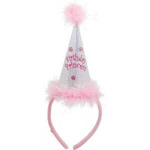 Birthday Princess Cone Headband-0