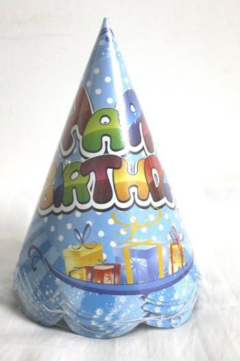 Happy Birthday Hats - 10CT-0
