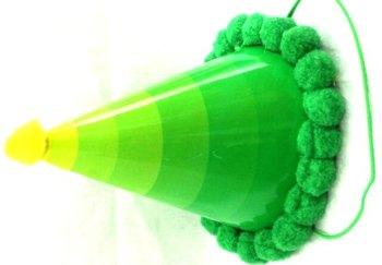 Rainbow Green Hat-0