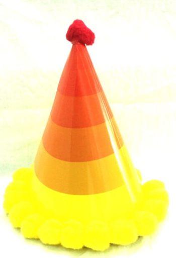 Rainbow Yellow Hat-0