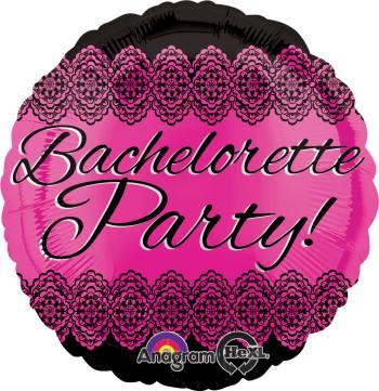 "Bachelorette Party Balloon 18"" S40-0"