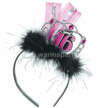 Sweet 16 Fascinator Headband-0