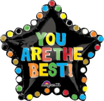 """You Are The Best Star Balloon XL 30"""" P35-0"""