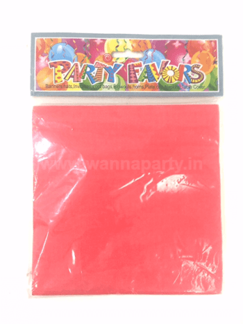 Red Paper Napkins - 20PC-0