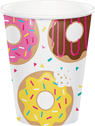 Donut Time Paper Cups - 8PC-0