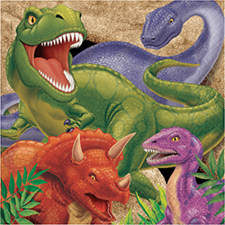 Dinosaur Blast Lunch Napkins - 16PC-0
