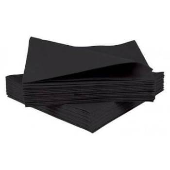 Black Paper Napkins - 20PC-0