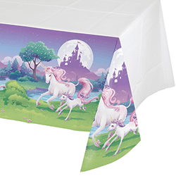 "Unicorn Fantasy Tablecover 54 x 102""-0"