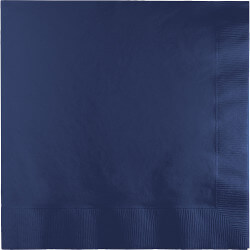 Navy Blue Lunch Napkins - 50PC-0