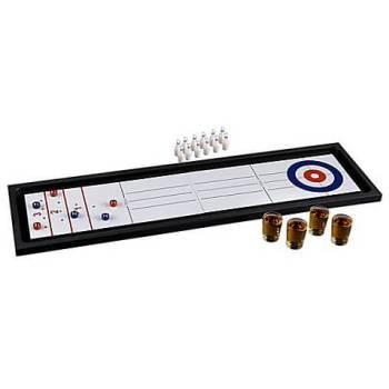 2-in-1 - Bowling/Shuffleboard Drinking Game Set-0