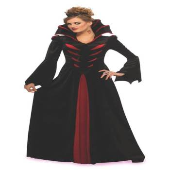 Adult Queen of the Vampires Costume-0