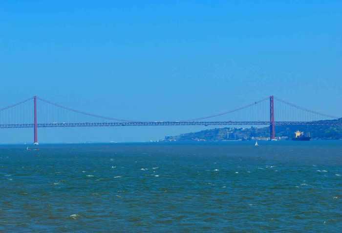 Ponte de 25 Abril Lissabon