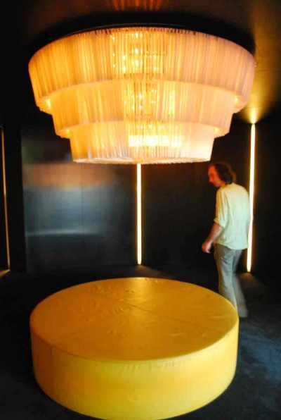 opulente lobby van David Chipperfield