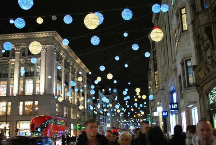 Oxford street, christmasshopping