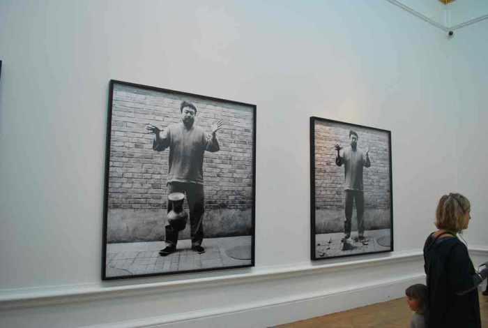 Ai Wei Wei in de Royal Academy in Londen