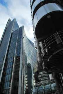 wandeling hoogste torens van Londen-Building