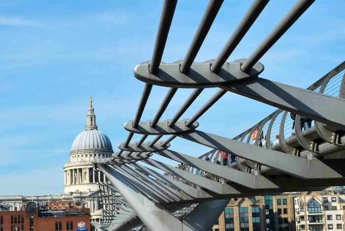 Over de Millennium Bridge