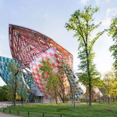 Musée Fondation Louis Vuitton, Frank Gehry, Daniel Buren, Parijs