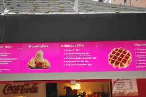 Belgische 'vafflor': topper in Stockholm :)