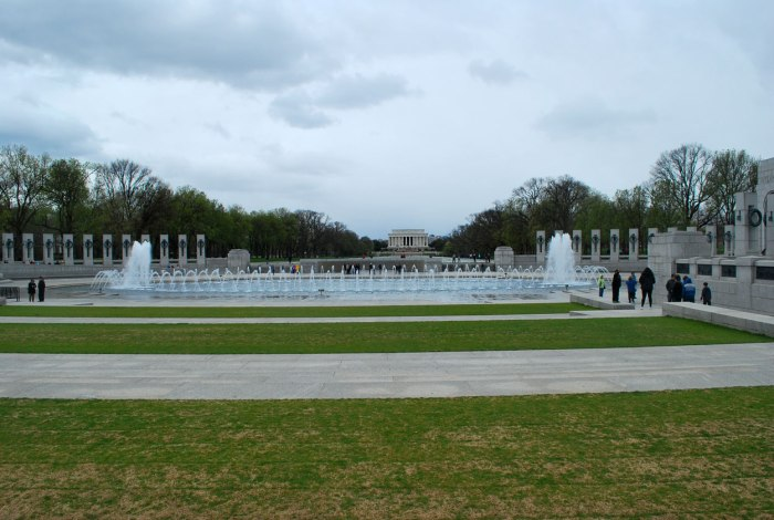 DC memorials op de Mall
