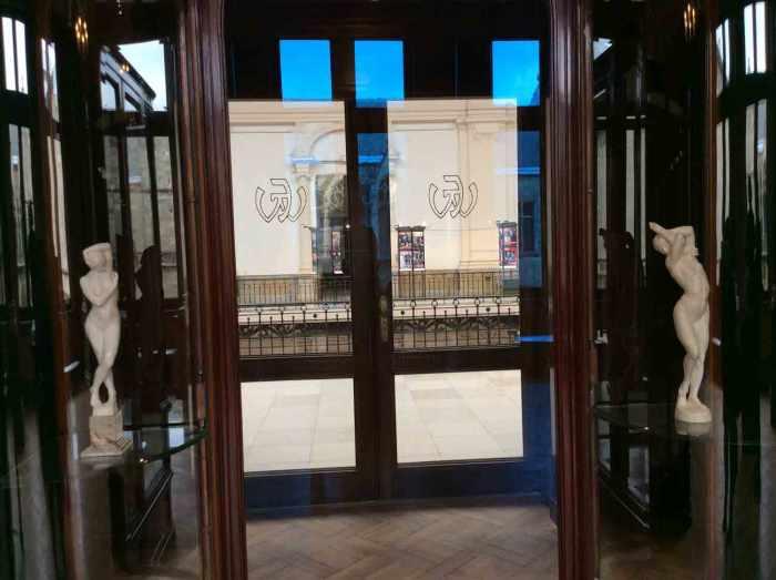 art nouveau winkel Horta en Wolfers