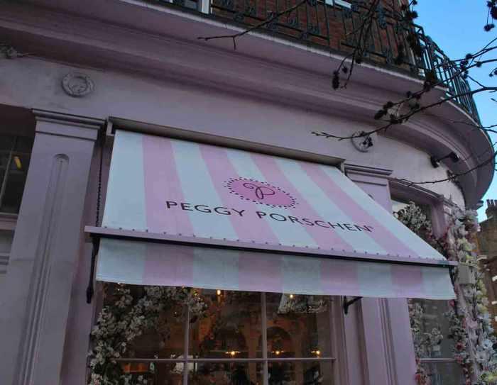 Peggy Porschen cupcakes Londen