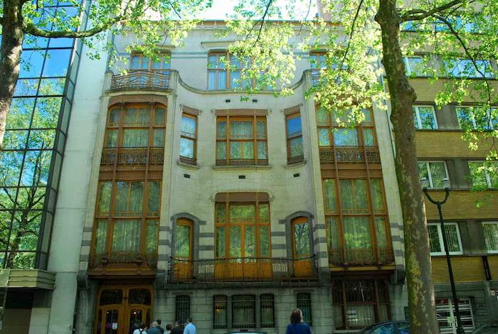art nouveau hotel Solvay