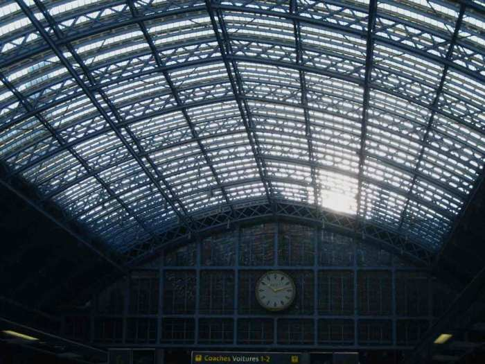 Londen St Pancras International