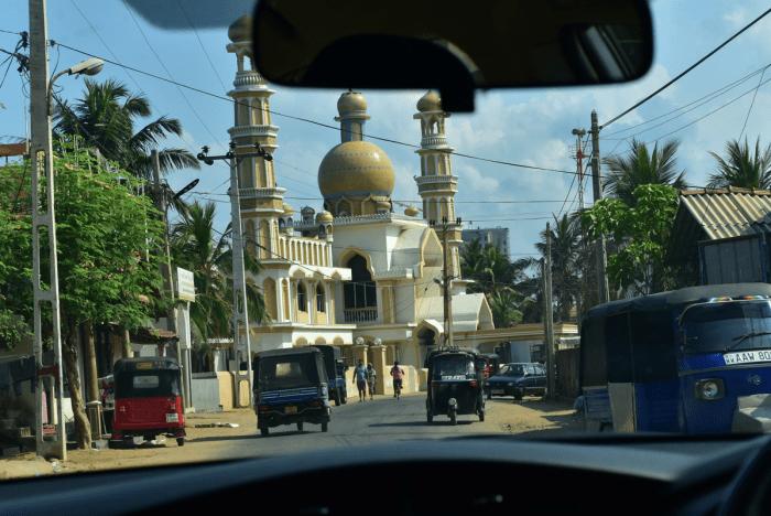 moskee in Negombo,Sri Lanka