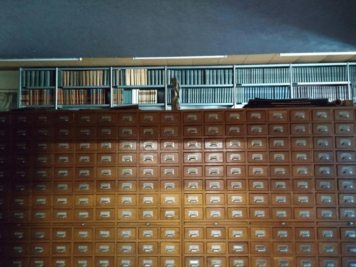 bibliotheek glasramen Abdij Keizersberg Leuven