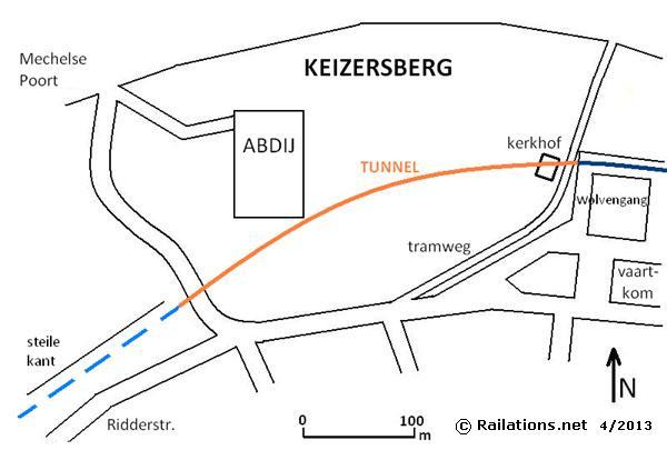 Leuven Keizersberg tunnel