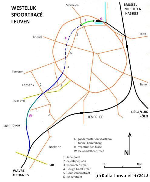 Leuven Keizersberg spoorwegtunnel