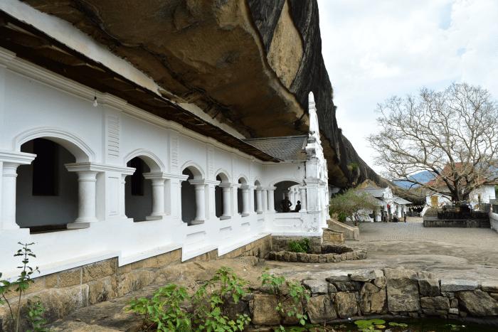 Dambulla: een gouden tempel