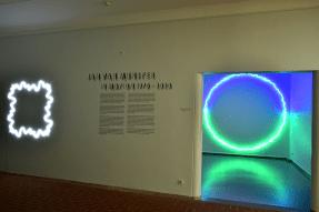 installaties van lichtkunstenaar Jan Van Munster