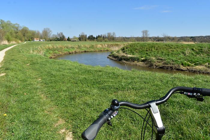 fietsen in de Dijlevallei