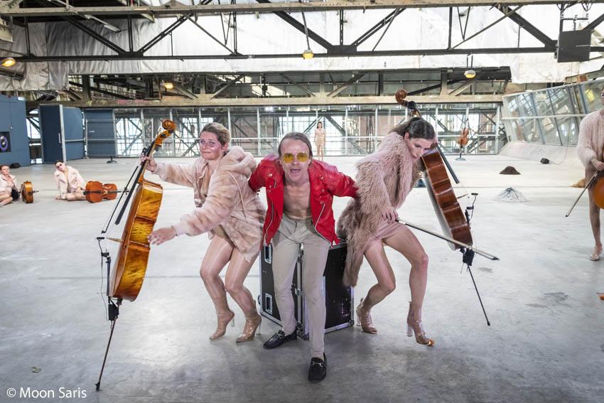 Via Berlin en Cello Octet Amsterdam, Instant Love, Over het IJ 2018