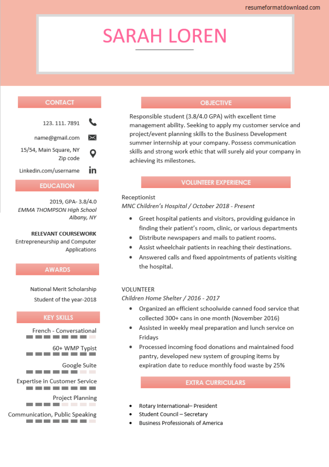 How to Write a Resume with No Experience [21+ Examples]