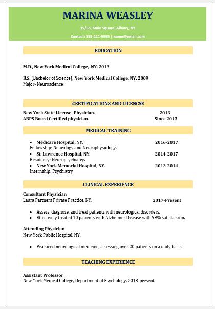 46 Eye-Catching Resume Format Download Free!, Wantcv.com
